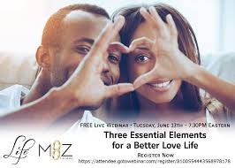 Pin by Myra Holmes on Three Essential Elements for a Better Love Life -  FREE Webinar | Happy couple, Marriage tips, Relationship