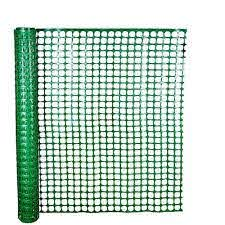 Hdx 4 Ft X 50 Ft Green Safety Edge Fence 14900 38 48 The Home Depot