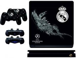 Ps4 Slim Real Madrid Skin For Playstation 4 Buy Online Skins Decals At Best Prices In Egypt Souq Com