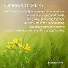 Image result for Hebrews 10:24-25