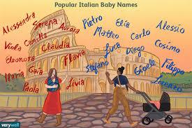 100 italian baby names meanings origins