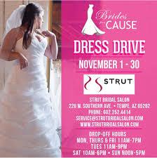 wedding dress donation drive through