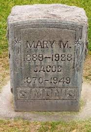 Mary Myrtle Harrison Simonis (1889-1928) - Find A Grave Memorial