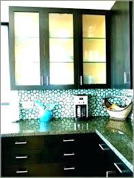 glass upper kitchen cabinets