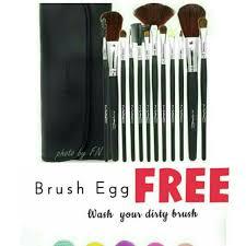 brush mac 12 kuas free dompet mac free