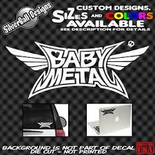 Babymetal Custom Vinyl Decal Sticker Car Truck Window Bumper Jrock Jpop Fox Jdm Ebay