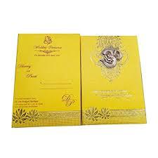premium wedding cards with ganesha
