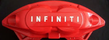 Product Infiniti Brake Caliper High Temp Vinyl Decal Stickers Set Of 8 Any Color
