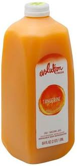 evolution fresh tangerine 100 juice
