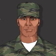 ArtStation - Soldier design, Aaron Wood