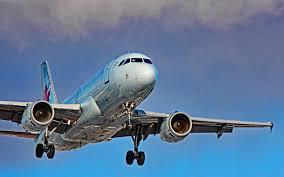 تحميل خلفيات ايرباص A319 طائرة ركاب 4k Hdr السفر الجوي طائرة