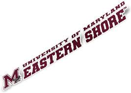Amazon Com University Of Maryland Eastern Shore Umes Hawks Ncaa Name Logo Vinyl Decal Laptop Water Bottle Car Scrapbook 8 Inch Sticker Arts Crafts Sewing