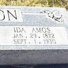Ida Adeline Nelson (Amos) (1872 - 1930) - Genealogy