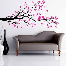 Let S Kiss On A Branch Wall Decal Nursery Room Decals Trendy Wall Designs