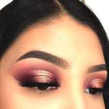 cranberry eyeshadow makeup christmas
