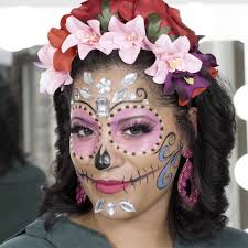 sugar skull makeup tutorial for day of
