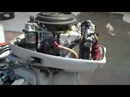 1977 johnson 25hp outboard the hull