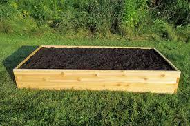 infinite cedar raised garden bed kit