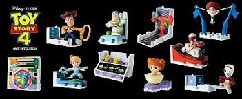 2019 toy story 4 happy meal toys