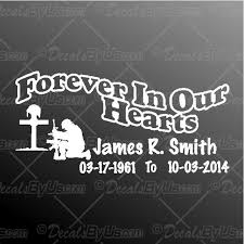 Find Great Deals On Forever In Our Hearts Soldier Car Decals
