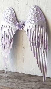 metal angel wings wall art shabby chic