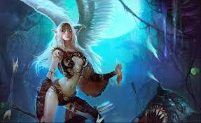 fantasy elfen wallpaper fantasy elf