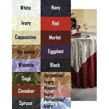gabrielle damask tablecloth 96 inch