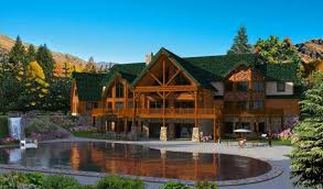 plan by golden eagle log timber homes