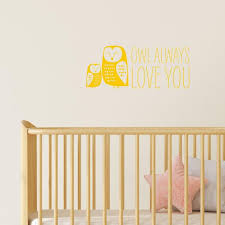 Owl Always Love You Wall Stickers I Ll Always Love You Etsy