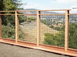 Fence Wire Mesh Neighborhood Nursery Hog Wire Fence Backyard Fences Diy Garden Fence