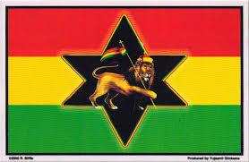 Rasta Lion Flag Window Sticker Decal Peace Resource Project