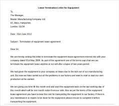 23 lease termination letter templates