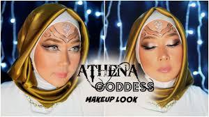 athena dess inspired makeup look