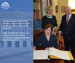 Earlier today, Diane Dodds returned to... - Northern Ireland Assembly |  Facebook