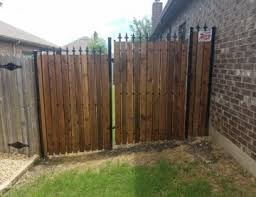 Custom Residential Commercial Fences Iron Wood More Buzz