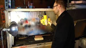 diy spray booth and paint curing oven