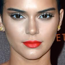 kendall jenner makeup beige eyeshadow