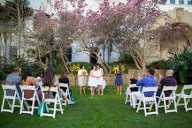 santa barbara sunken garden wedding