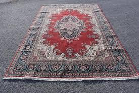 rug vintage turkish rug oushak rug