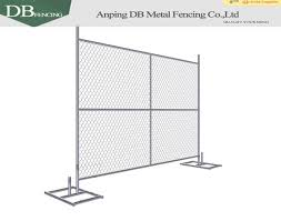Wholesale Temporary Chain Link Portable Fence Panels For Construction Security Partition Fence