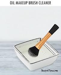 diy coconut oil makeup brush cleaner