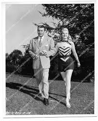 orp-08227 1947 orig photo George Brent & pretty Adele Jergens on location  film TのeBay公認海外通販 セカイモン