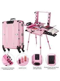 2020 small led makeup train case