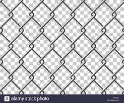 Steel Mesh Metal Fence Seamless Transparent Structure Vector Stock Vector Image Art Alamy