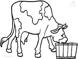 1001 Kleurplaten Dieren Koe Kleurplaat Koe En Varken