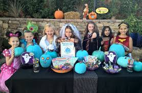 Carmel Valley kid advocates for safe Halloween with Teal Pumpkin Project -  Hartford Courant
