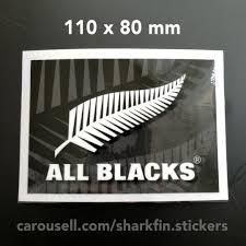 Last Piece Car Windscreen Decal New Zealand Rugby All Blacks 10 Free Normal Mail Actual Item Is Waaaay Sharper Than This Shoddy Pic Design Craft Others On Carousell