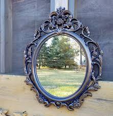 hollywood regency mirror ornate mirror