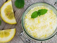 lemon scrub for face how to use lemon