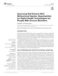 pdf improving self esteem motivational quotes opportunities